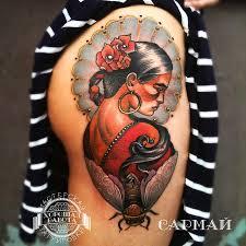 татуировки на ягодицах каталог тату салонов и мастеров