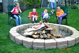 lovely fire pit patio ideas fire pit patio ideas fire pit in seating wall patio