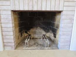 Quick fireplace paint project