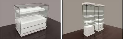 Free Standing Display Cabinets Free Standing Modern Display Wooden Glass Jewelry Display Cabinet 9