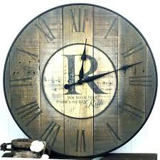 oversized wall clock wall clock oversized clocks oversize wall clocks oversized rustic wall clocks wooden wall