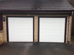 image1 of recently installed lpu40 m ribbed sectional garage doors
