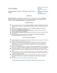 Pmp Sample Resume Pmp Certification Sample Questions Free Download New Resume Project 23