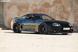 Wide-Body and Blacked-Out Toyota Supra Twin-Turbo | stance ...