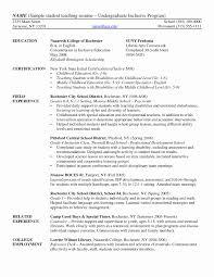 Sample Resume For Teachers Sample Resume for Teachers Unique Cover Letter Resume Teacher 93