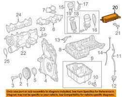 mercedes oem 10 16 sprinter 2500 engine oil cooler 6421800165 image is loading mercedes oem 10 16 sprinter 2500 engine oil
