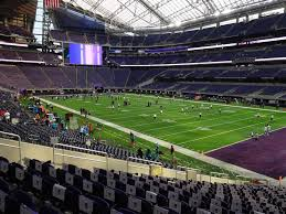 Us Bank Stadium View From Section 103 Vivid Seats