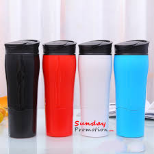promotional custom 16oz double wall stainless steel insulated travel coffee mug cup with handle and thumb slide lids find plete details