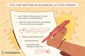 Typing Business Letter The Best Formatting For A Business Letter