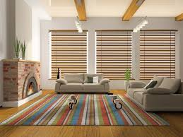 Wood Blinds | 3 Dark Wood Designs For Your Living Room   Express Blinds,  Draperies, And Shutters | Express Blinds U0026 MoreExpress Blinds, Draperies,  ...