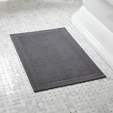 gorgeous yellow and gray bathroom rug with westport grey bath rug crate and barrel