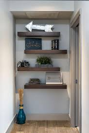 Made To Measure Floating Shelves White Magnificent 32 Ways To Decorate With Floating Shelves HGTV's Decorating