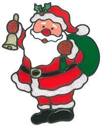 Amazonde Magicgel Fensterbilder Weihnachten Nikolaus Mit