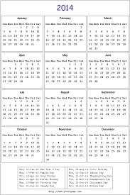 Printable Calendar 2015 Template Wsopfreechips Co