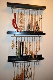 how to organize your jewelry in a comfy way ideas hanging diy holder