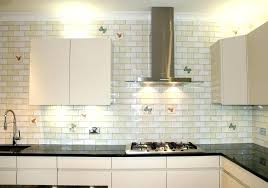 kitchen glass subway tiles faux brick tile blue bathroom ideas idea in panels for full metroliner