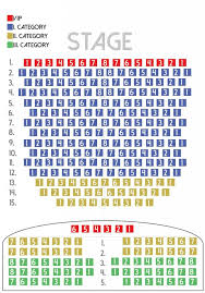 Seating Plan Of Budapest Folk Shows Hungarian Folk
