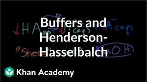 Henderson Hasselbalch Buffers And Henderson Hasselbalch Video Khan Academy