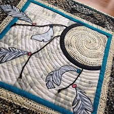 Dream Catcher Quilt Pattern Mesmerizing Quilting An Aerobic Activity Really