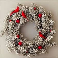 A DIY Christmas Decorating Your Home On A Budget  Pine Cone Christmas Crafts Made With Pine Cones