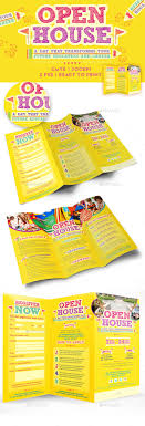 open house trifold brochure template by emty graphicriver open house trifold brochure template brochures print templates