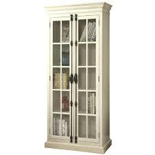 kitchen storage cabinets barrow antique white curio with 2 glass doors 4 shelves tall kitchen storage