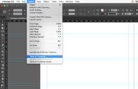 Indesign How To Create A Table Of Contents Updated Cc 2018 Redokun
