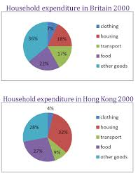 Household Expenditure In Hong Kong And Britain Charts Give
