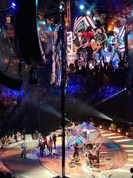 Garth Brooks Bridgestone Arena Seating Chart Garth Brooks Turns Nashville Opening Night Concert Into Hit