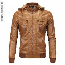 fashion mens vintage thickening pu leather jacket men motorcycle autumn winter designer famous brand male slim