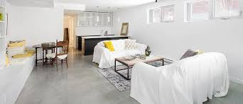Unfinished Basement Design Property Impressive Ideas