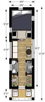 Designing a tiny house Curbed Lovebug2tinyhousecouplesfloorplan Wide Open Eats Tiny House Design
