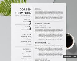 How To Create A Modern Resume In Word Editable Resume Template For Word 2019 2020 Job Resume Template Simple Cv Template Cover Letter Modern Resume Creative Resume Professional