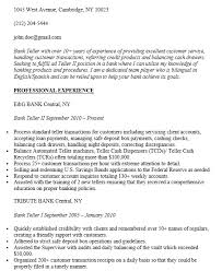 resume samples for bank teller 17 free bank teller resume samples sample resumes