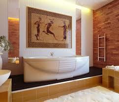 Bathroom Designs: Japanese Style Zen Bathroom With Courtyard - Scandinavian