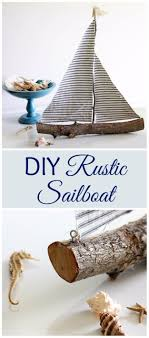 diy home decor projects for summer diy rustic sailboat creative summery ideas for table