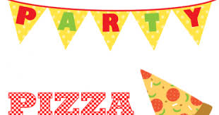 pizza party banner clipart. In Pizza Party Banner Clipart