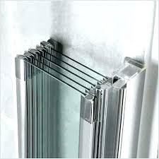 inspiring accordion glass shower door doors a inspirational images about folding frameless bifold gl
