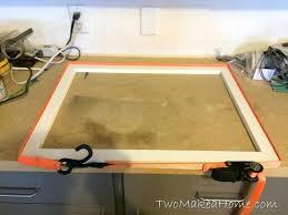 easy poster frames diy frame with glass frame box shelves diy