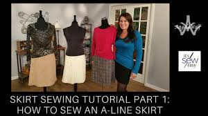 It's Sew Easy Patterns Inspiration Sewing Skirts For Beginner Choosing Patterns Fabric Sew An