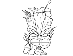 Small Picture Amazing Tiki Coloring Pages For KIDS 1315 Unknown Resolutions