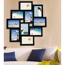 10 opening wood photo collage wall