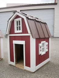 custom dog shed housesCustom Dog House Barn