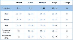 Misses Size Conversion Chart Misses Size Chart Affordable Boutique Online Misses Clothing
