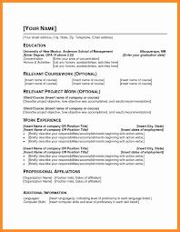Resume Topics Resume For Study