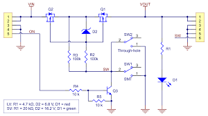 pololu mini mosfet slide switch reverse voltage protection sv schematic diagram of the mini mosfet slide switch reverse voltage protection