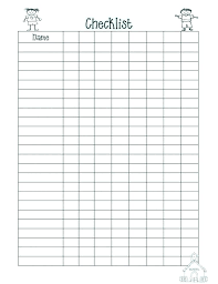 Blank Roster Template Class Latest Of Free Printable
