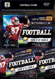 football flyer templates