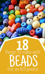 Easy Things To Make 18 Things To Make With Beads That Arent Jewelry Moms And Crafters