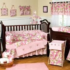 pink and brown crib bedding ideas